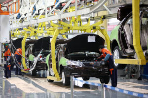 Form strategic alliances with automotive companies in the United States