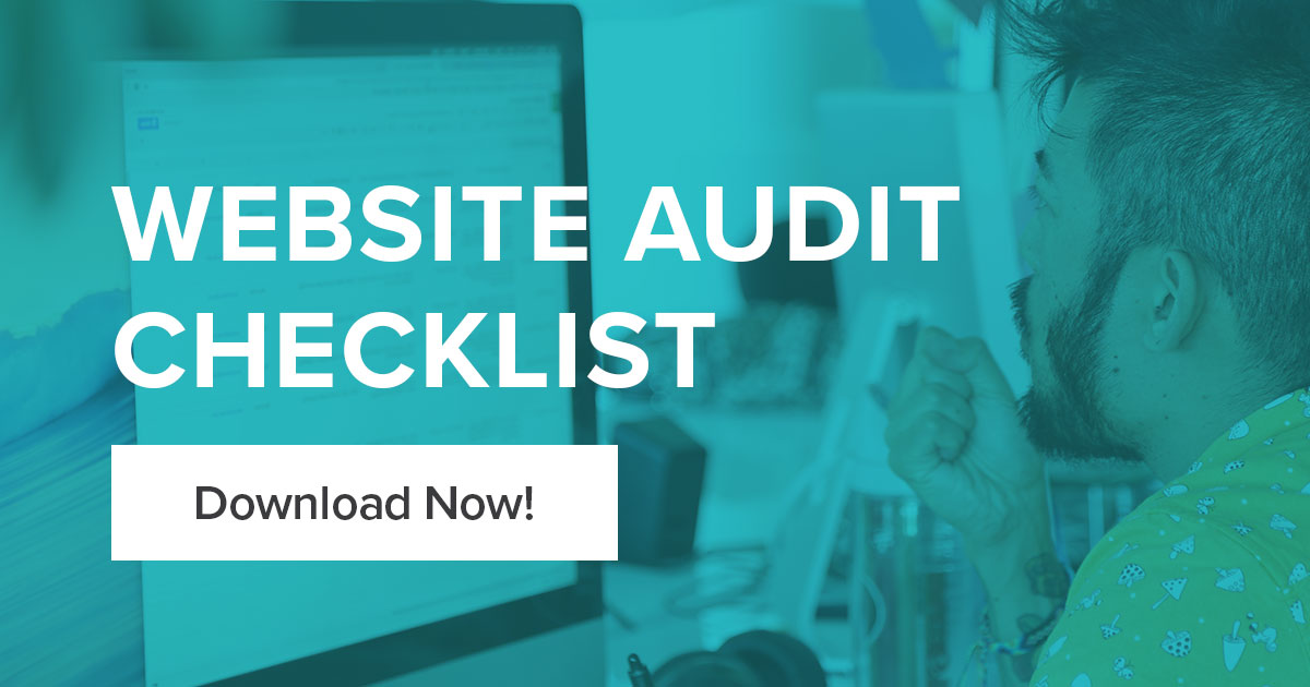 Is it time for the yearly website audit