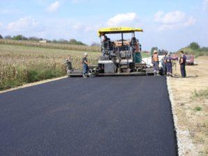 Construction of Asphalt Pavement Work