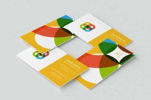 Printing visiting cards